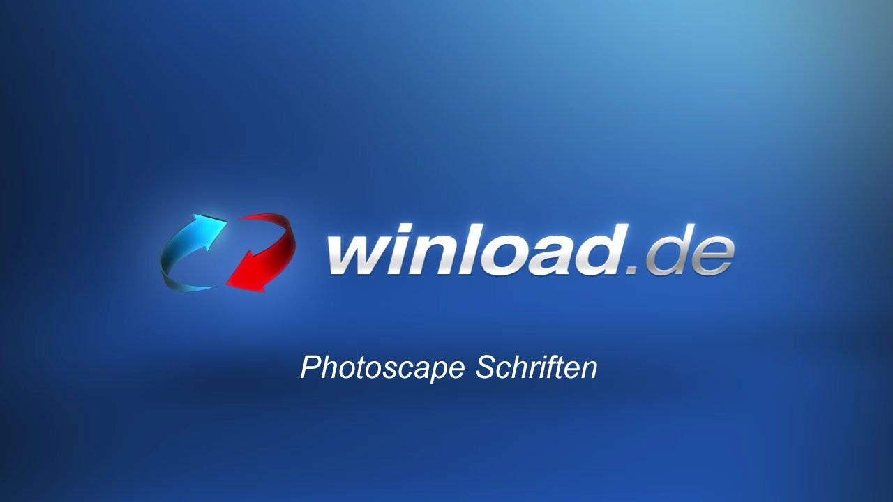 schriften für photoscape