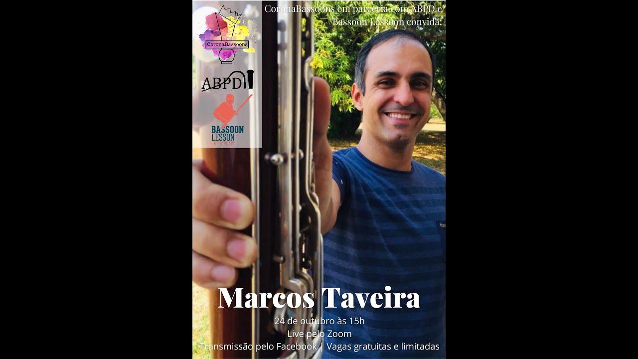 Live com Marcos Taveira
