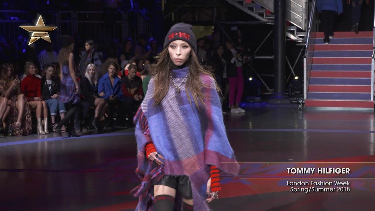 Tommy Hilfiger London Fashion Week Spring Summer 2018 Youtube