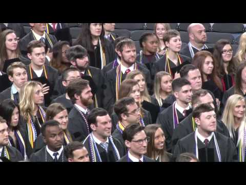 University of Richmond, Law Commencement 2017