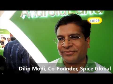 AndroidLand: Dilip Modi, Co Founder, Spice Global -by TelecomLead.com