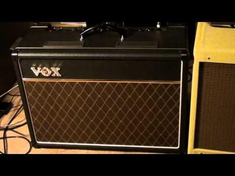 VOX AC-15 vs Fender Blues Deluxe
