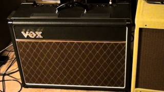 VOX AC-15 vs Fender Blues Deluxe