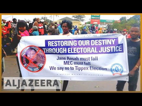 Malawi Protests: Rallies against President Mutharika
