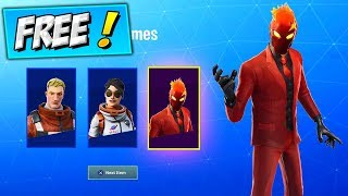 Comment obtenir DES SKINS GRATUIT! Fortnite NEW STYLES, FIRE WILD CARD OG STYLE - Red Suit Evil Wildcard Skin