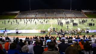 Seven Lakes High School Marching Band:  Journey through the sky
