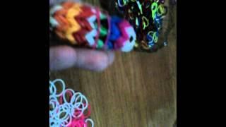 Видео уроки Насти Пысларь по плетению из резинок