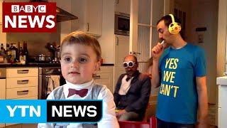 'BBC 방송사고' 패러디 봇물...'스타덤' 오른 켈리 교수의 4살 딸 / YTN (Yes! Top News)