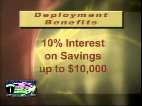 Deployment Benefits Savings Deposit Program AFN Armed Forces Network Spot (commercial)