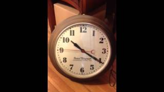 Postal Telegraph Synchronous Wall Clock