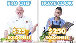 $250 vs $25 Pasta Bolognese: Pro Chef & Home Cook Swap Ingredients | Epicurious