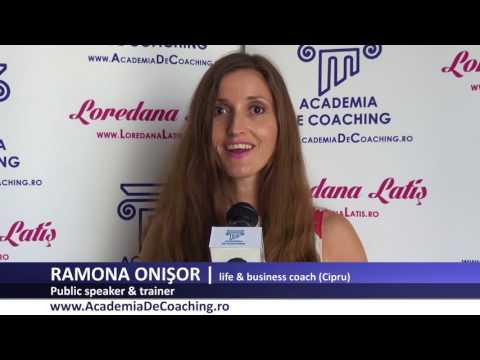 RAMONA ONISOR Absolvent Public Speaking Academia Romana De Coaching, iulie 2017