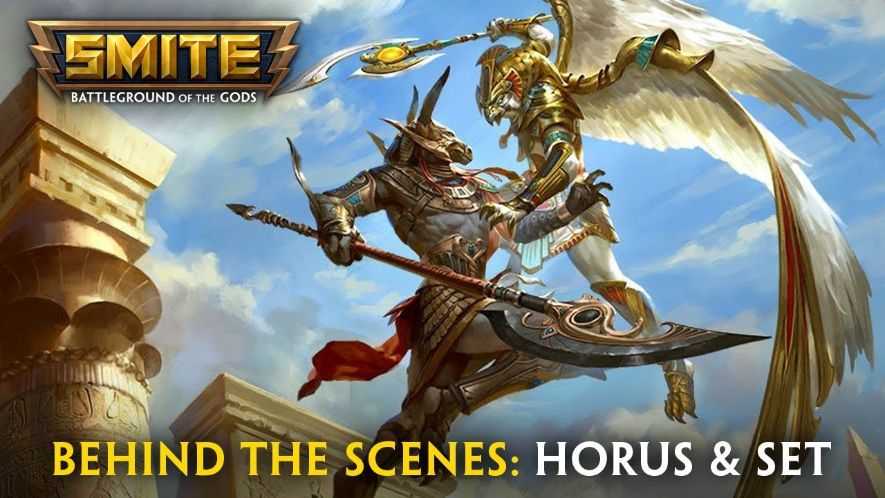 SMITE: Behind the Scenes - Horus and Set Video, Trailer