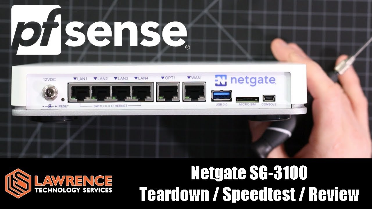 Netgate SG-3100 Teardown / Speedtest / Review of this powerful pfsense  packet pusher!