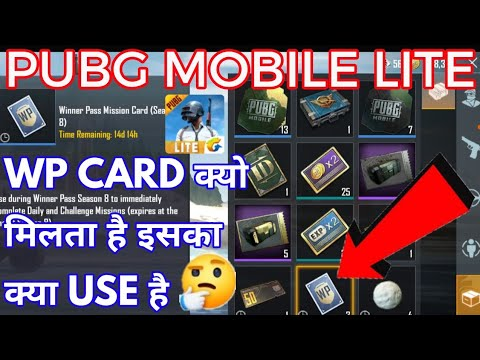 Download  How to use WP card in Pubg | what is the use of wp card in pubg lite | Pubg mobile lite | wp card ? Gratis, download lagu terbaru