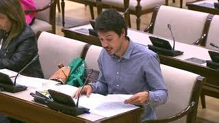 Segundo González en la comisión Mixta para las Relaciones con el Tribunal de Cuentas el 30 de mayo.