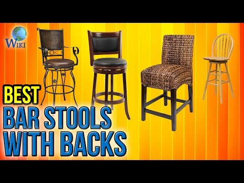 10 Best Bar Stools With Backs 2017
