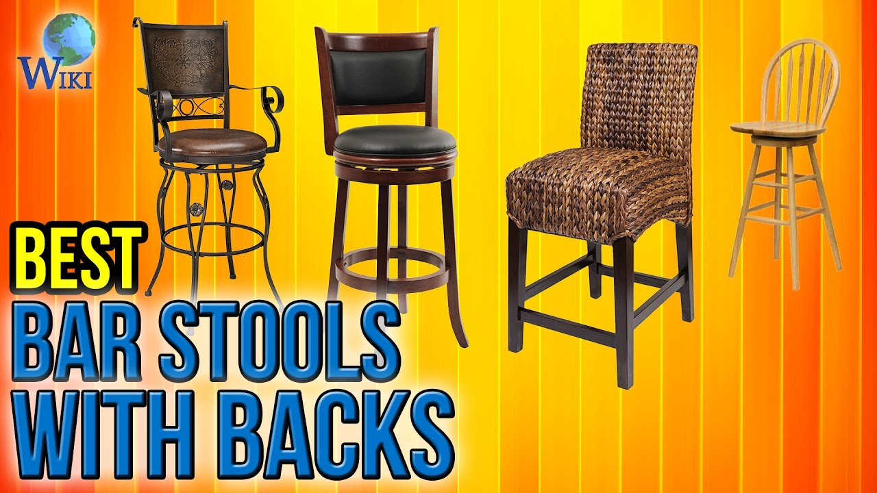 10 Best Bar Stools With Backs 2017 Youtube