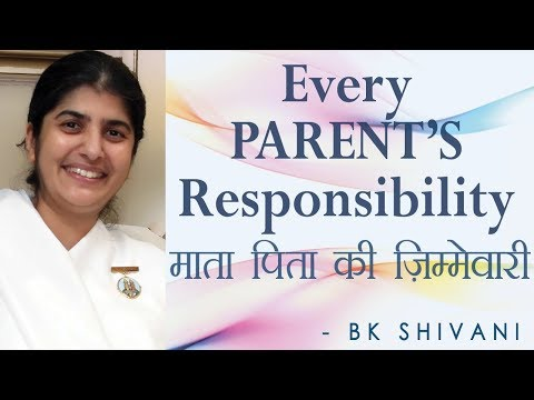Every PARENT'S Responsibility: Ep 13 Soul Reflections: BK Shivani (English Subtitles)
