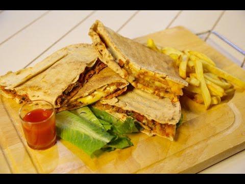 #وجبات_15_ثانية | ساندوتشات تركية بجبن الشرائح والسلطة