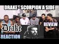 DRAKE - SCORPION A SIDE (FULL ALBUM) REACTION/REVIEW Mp3