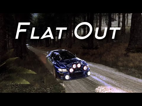 FLAT OUT   Impreza S4, Heavy Rain, Scotland   DiRT Rally 2.0  