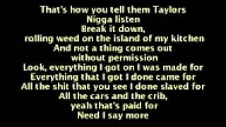 The weekend remember you lyrics