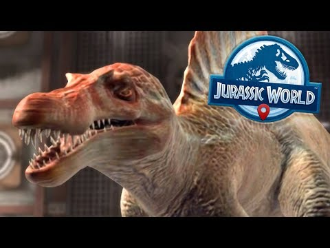 SPINOSAURUS IN THE HANGER!!! - Jurassic World Alive | Ep8 ( Jurassic GO )