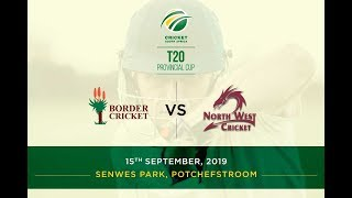 Highlights | CSA T20 Provincial Cup | North West vs Border