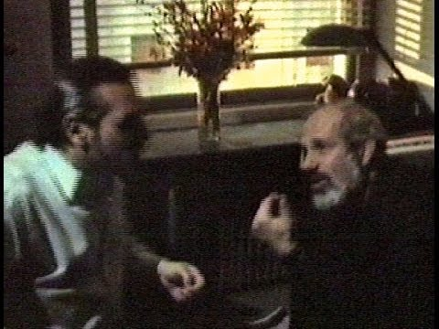 Martin Scorsese with Brian De Palma (1988)