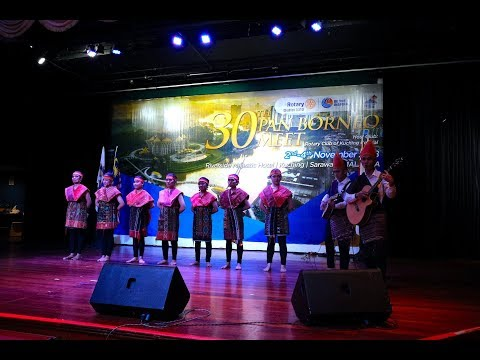 """Penampilan """"Magna Vog"""" di Acara Rotary Pan Borneo Met ke-30 di Kuching, Serawak - Malaysia"""