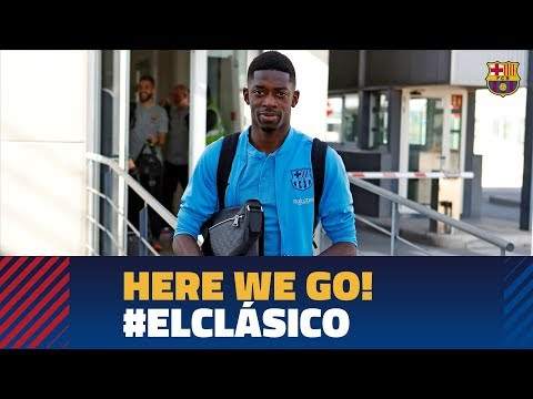 Trip to Madrid ahead of El Clásico in the Copa del Rey