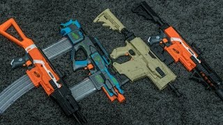 Shooting Stuff with Tacti-Cool Nerf Blasters