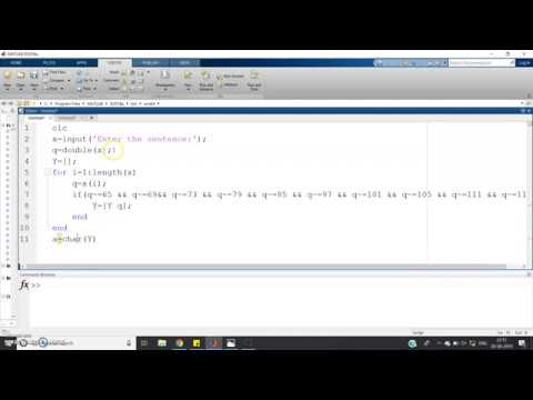 Remove all the consonants using MATLAB