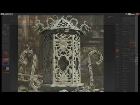 CGI 3D Tutorials : Zbrush Environments With Seth Thompson Part 2