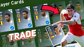 How to trade players in pes 19 mobile || pes 19 || captain boomerang