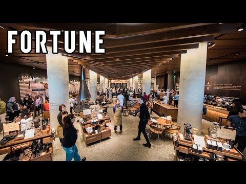 Starbucks Opens Its First Reserve Store I Fortune