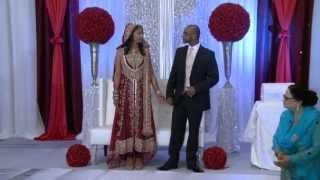 Bride & Groom Entrance An Indian Wedding at Erin Mills Convention Centre Mississauga