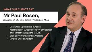 LiveseySolar Testimonial | Mr Paul Rosen | Grange Eye Consultants