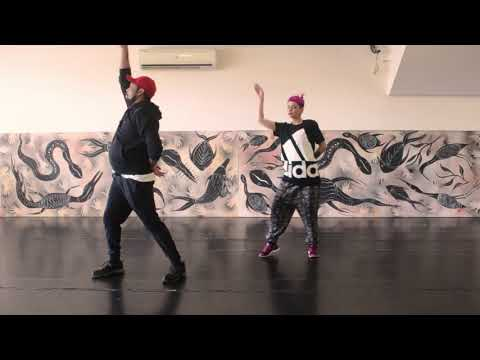 Blak Nite Group Dance instructional video