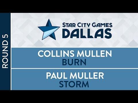 SCGDFW: Round 5 - Collins Mullen VS Paul Muller [Modern]
