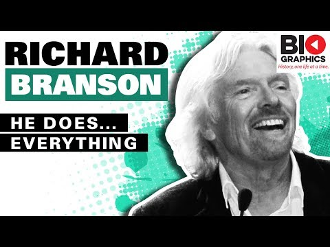 Richard Branson Biography: Businessman, Adventurer & Icon