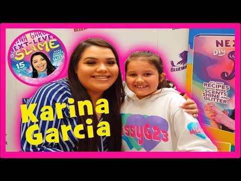 KARINA GARCIA MEET AND GREET IN LONDON - BOOK SIGNING