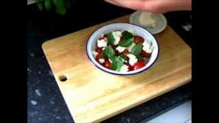 Insalata Caprese Tomato Mozzarella & Basil Salad Recipe How To Make Italian Food