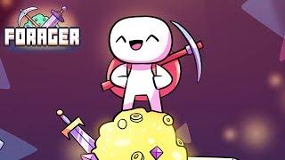 Minecraft кликер в который хочется играть непрерывно Forager