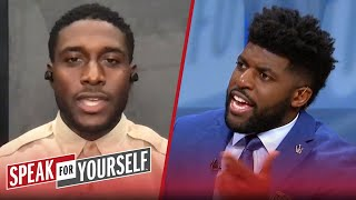 Acho & Reggie Bush on Pats' smart choice w/ Cam, better off without Brady | NFL | SPEAK FOR YOURSELF