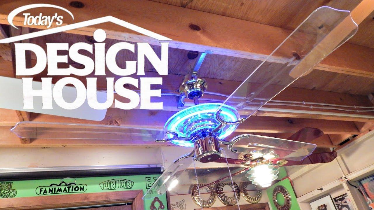 Design house neon ceiling fan 1080p hd remake youtube aloadofball Images