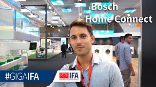 Home Connect am BOSCH-Kühlschrank erklärt - IFA 2016 - GIGA.DE