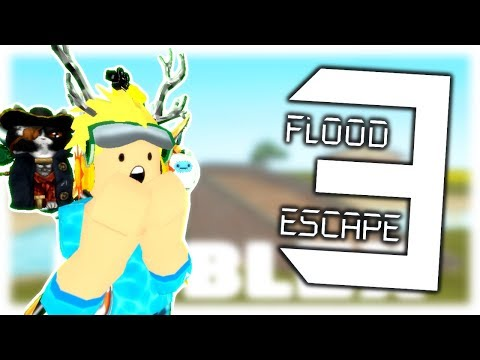 Roblox Flood Escape Secret Wall Get 5 000 Robux For Official Flood Escape 3 Is Here Not Fake Roblox Youtube