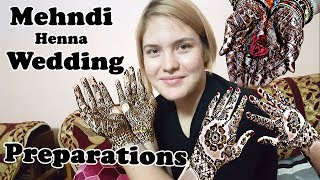 Indian Wedding Preparation - Mehndi - Foreigner (India Trip - P10)